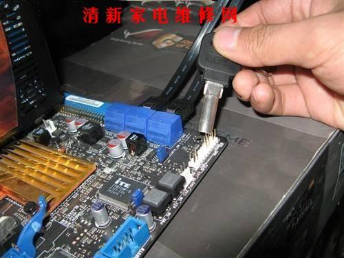 电脑组装主板跳线连接实战图解图片